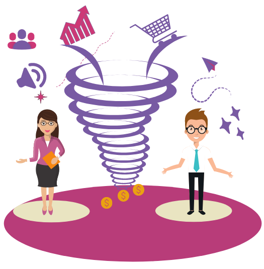 why do sales funnel work
